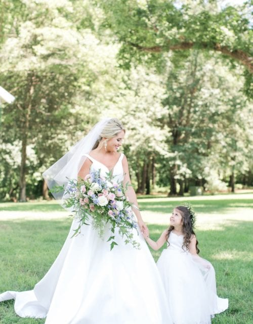 Real Bride in Martina Liana Wedding Dress from Gown Boutique of Charleston