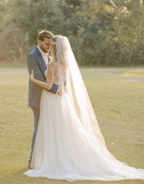 Image of Boho Wedding Dress in Gown Boutique
